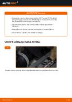 Kā nomainīt un noregulēt Bremžu diski VW TOURAN: pdf ceļvedis