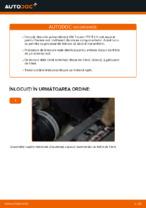 Montare Discuri frana VW TOURAN (1T1, 1T2) - tutoriale pas cu pas