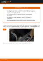 Online gratis instructies het Remschijven vervangen VW TOURAN (1T1, 1T2)