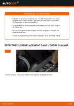Comment changer et régler Disque VW TOURAN : tutoriel pdf