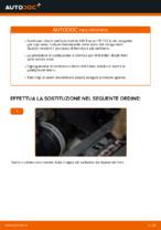 Come sostituire i dischi dei freni posteriori su una VW Touran 1T1 1T2