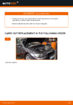 How to replace and adjust Air Filter BMW 3 SERIES: pdf tutorial