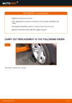 DIY BMW change Tie rod end - online manual pdf