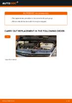 Replacing Spark Plug TOYOTA PRIUS: free pdf