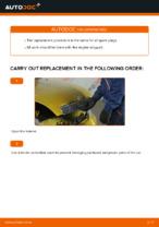 DIY TOYOTA change Spark Plug - online manual pdf