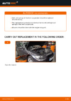 How to replace front suspension springs on BMW E92