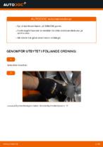 bak och fram Stabilisatorstag BMW 5-serie | PDF instruktioner för utbyte