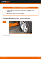 Byta Länkarm hjulupphängning bak och fram BMW själv - online handböcker pdf