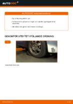 Laga Yttre styrled: pdf instruktioner för TOYOTA PRIUS