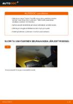 MAPCO 25560 varten Yaris Hatchback (_P1_)   PDF vaihto-ohje