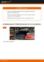 W jaki sposób wymienić sprężyny gazowe pokrywy bagażnika w BMW E92