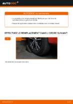 PDF manuel de remplacement: Triangle de suspension PEUGEOT arrière et avant