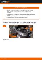 Ako vymeniť predné brzdové platničky kotúčovej brzdy na BMW E92