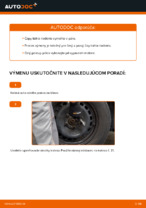 Kedy meniť Čap riadenia TOYOTA YARIS (SCP1_, NLP1_, NCP1_): pdf príručka