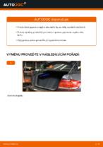 Jak vyměnit plynové vzpěry víka kufru na BMW E92
