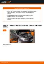 Πώς αντικαθιστούμε τα μπροστινά τακάκια των δισκόφρενων σε BMW E92