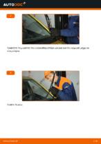 Δωρεάν οδηγίες για Καθαριστήρα TOYOTA YARIS (SCP1_, NLP1_, NCP1_) αλλάξετε