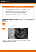Πώς αλλαγη και ρυθμιζω Σετ ρουλεμάν τροχού εμπρος αριστερά δεξιά: δωρεάν οδηγίες pdf