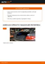 Kako zamenjati plinske vzmeti vrat prtljažnika na BMW E92