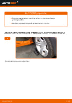 Zamenjavo Vilica: pdf navodila za BMW 3 SERIES
