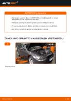 Kako zamenjati zavorne kolute na sprednjem delu pri BMW E92