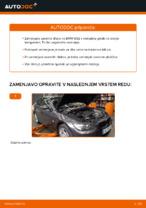 Kako zamenjati zavorne kolute na zadnjem delu pri BMW E92