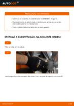 Como substituir uma conexão do estabilizador dianteiro no BMW E92
