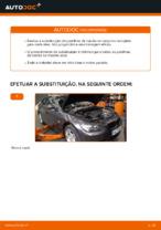 Como substituir as pastilhas de travão dianteiras do travão de disco de BMW E92