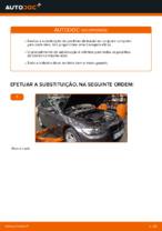 Como substituir pastilhas de travão traseiras do travão de disco de BMW E92