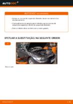 Como substituir a coluna de suspensão dianteira no BMW E92