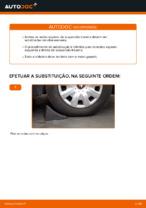 Como substituir molas de suspensão traseiras em Toyota Yaris P1