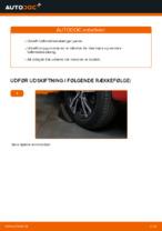 Hvornår skal Styrekugle skiftes PEUGEOT 107: vejledning pdf