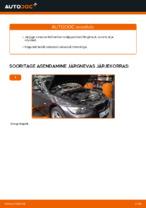 Kuidas vahetada mootori õhufiltrit autol BMW E92