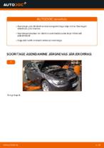 Kuidas vahetada esimesi piduriklotse või pidurikettaid autol BMW E92