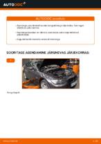 Kuidas vahetada tagumisi piduriklotse või pidurikettaid BMW E92