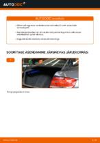Kuidas vahetada tagumise suspensiooni amortisaatoreid autol BMW E92