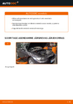 Kuidas asendada esimest BMW E92 amortisaatoripüstakut