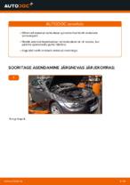 Kuidas vahetada esimesi suspensiooni vedrusid autol BMW E92