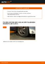 Montage Bremszange TOYOTA PRIUS Hatchback (NHW20_) - Schritt für Schritt Anleitung