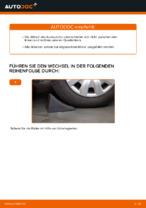 Wie Sie den Unterarm der vorderen Einzelradaufhängung am Toyota Yaris P1 ersetzen