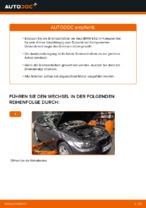 Wie der Austausch der hinteren Bremsscheiben bei einem BMW E92 funktioniert