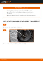 Online gratis instructies het Stabilisatorkoppelstang vervangen TOYOTA YARIS (SCP1_, NLP1_, NCP1_)