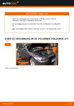 Hoe de voorste remblokken van schijfremmen vervangen op BMW E92