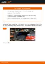 Comment remplacer le vérin à gaz du couvercle de coffre sur une BMW E92