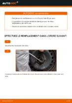 Changement Suspension barre de connexion arrière et avant TOYOTA YARIS : tutoriel en ligne