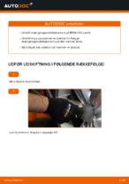 Hvordan installeres den foreste krængningsstabilisator på BMW E92