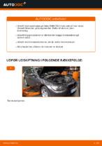 Hvordan bremseskiverne foran på BMW E92 udskiftes