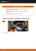 Hvordan man udskifter bremseklodser til skivebremser i for på BMW E92