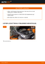 Hvordan man udskifter bremseklodser til skivebremer i bag på BMW E92