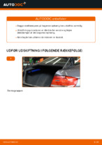 Hvordan man udskifter støddæmpere i bag på BMW E92